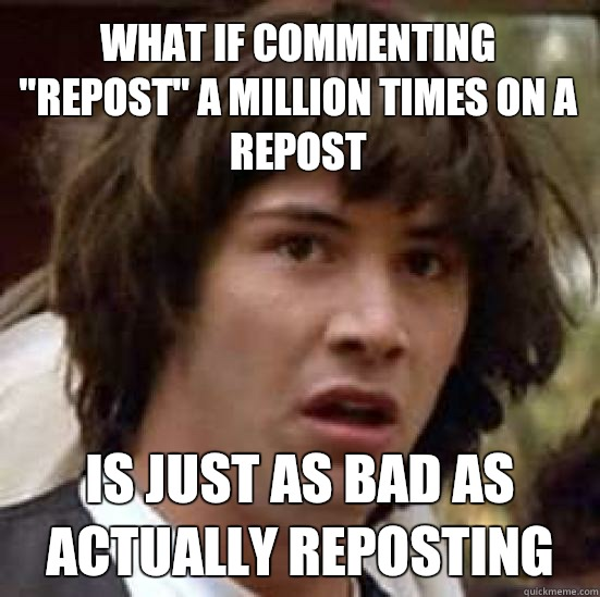 What if commenting