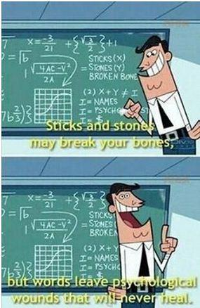 Sticks and Stones. -   Misc