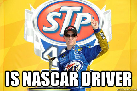is nascar driver