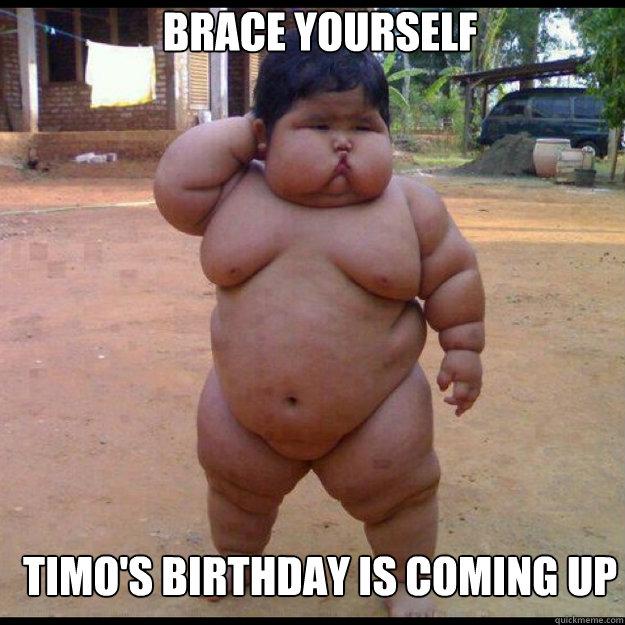 Midget birthday meme