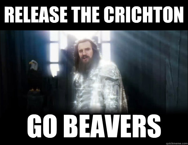 Release the crichton go beavers