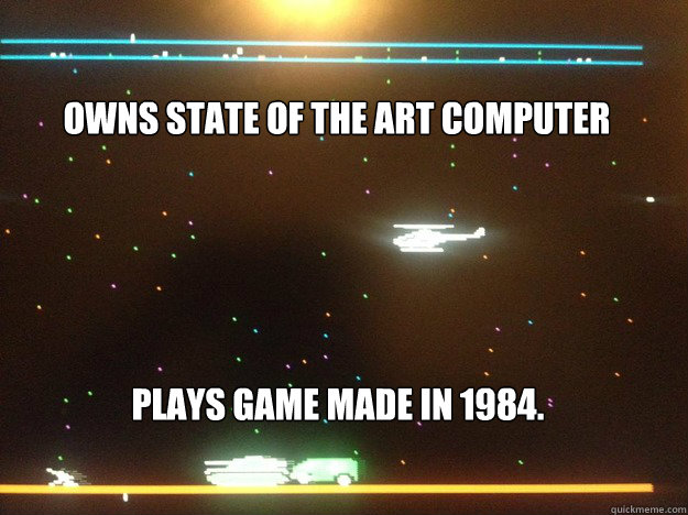 Owns State of the Art Computer Plays game made in 1984. - Owns State of the Art Computer Plays game made in 1984.  Rescue Raiders