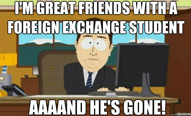 Image result for exchange student funny