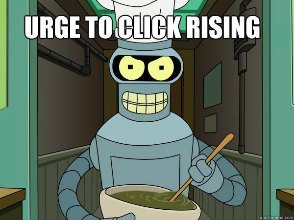 URGE TO CLICK RISING - URGE TO CLICK RISING  Misc