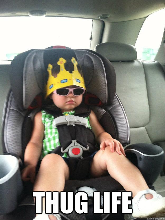 thug life -  thug life  Baby Thug Life