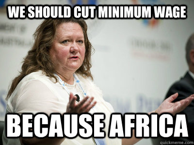 we should cut minimum wage because africa