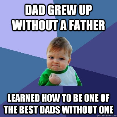 daughter growing up without a father