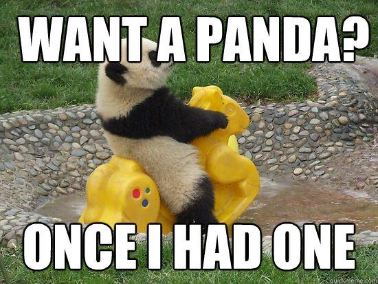Bitch Please I M Dirty Panda Fuckyeahpanda Quickmeme