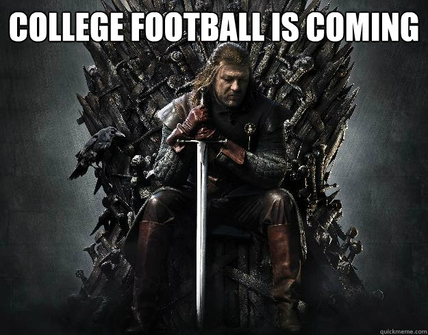 College football is coming