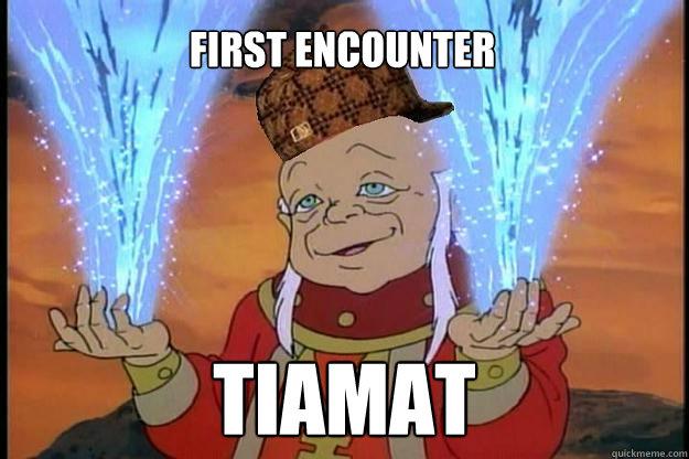 First Encounter Tiamat