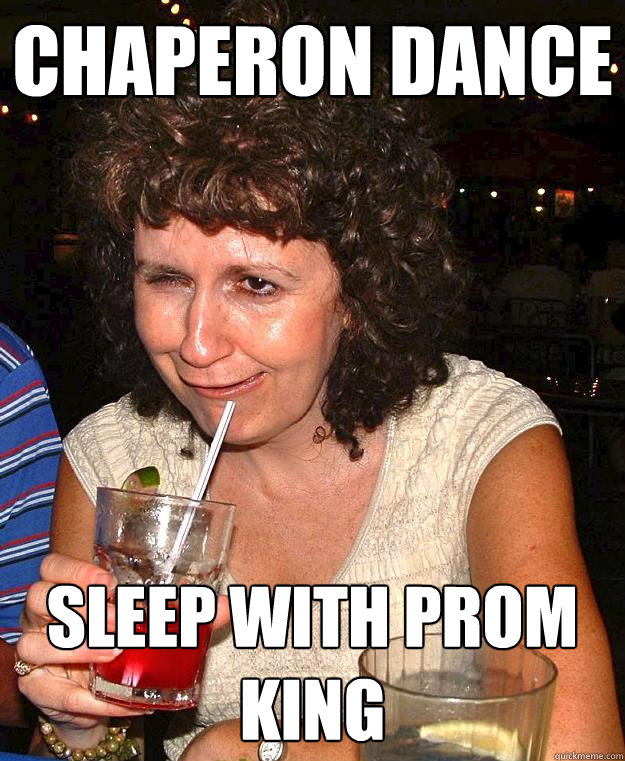 chaperon dance sleep with prom king