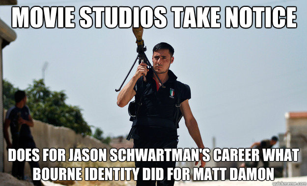 Movie Studios Take Notice Does For Jason Schwartmans Career What
