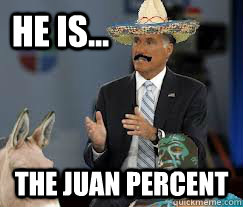 he is... the juan percent - he is... the juan percent  Misc