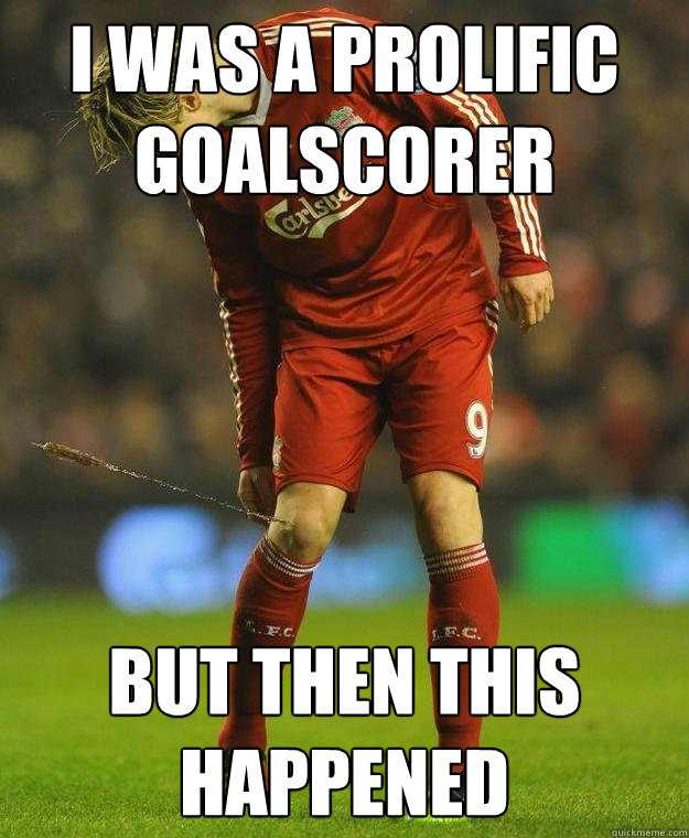 I Was A Prolific Goalscorer But Then This Happened Torres Arrow