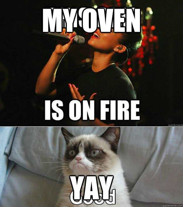 my oven yay