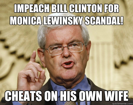 4884c2dfd886118f1f53667efe8325888ee54adb9ab631e73268c5b908d808c2 impeach bill clinton for monica lewinsky scandal! cheats on his