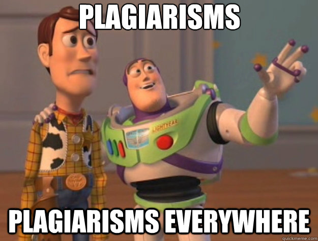 plagiarisms plagiarisms everywhere - plagiarisms plagiarisms everywhere  Toy Story
