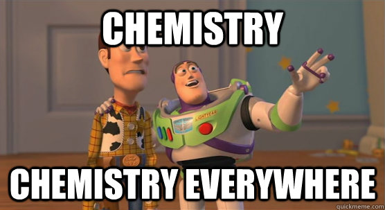 Image result for chemistry is everywhere