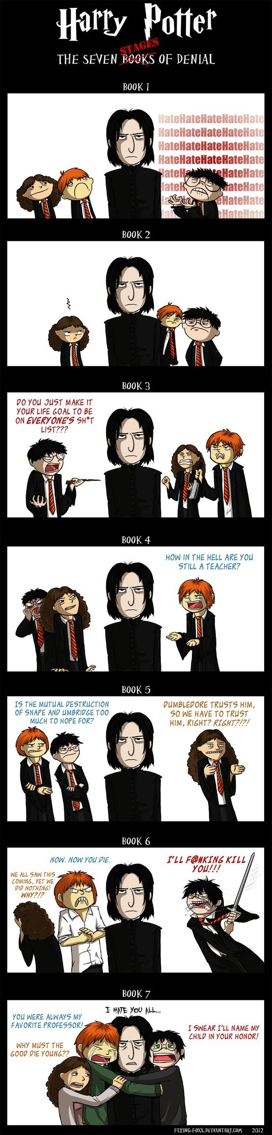 Harry Potter - The 7 Books of Denial... -   Misc