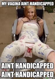 handicap dating vaginas