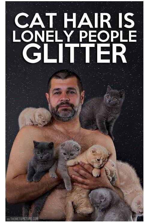 Lonely people glitter -   Misc