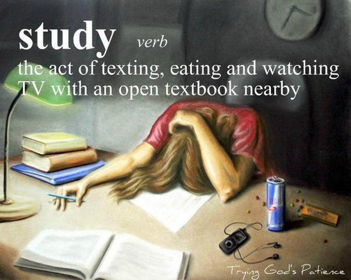 The Real Definition of Study -   Misc