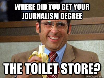 Journalism general major in college