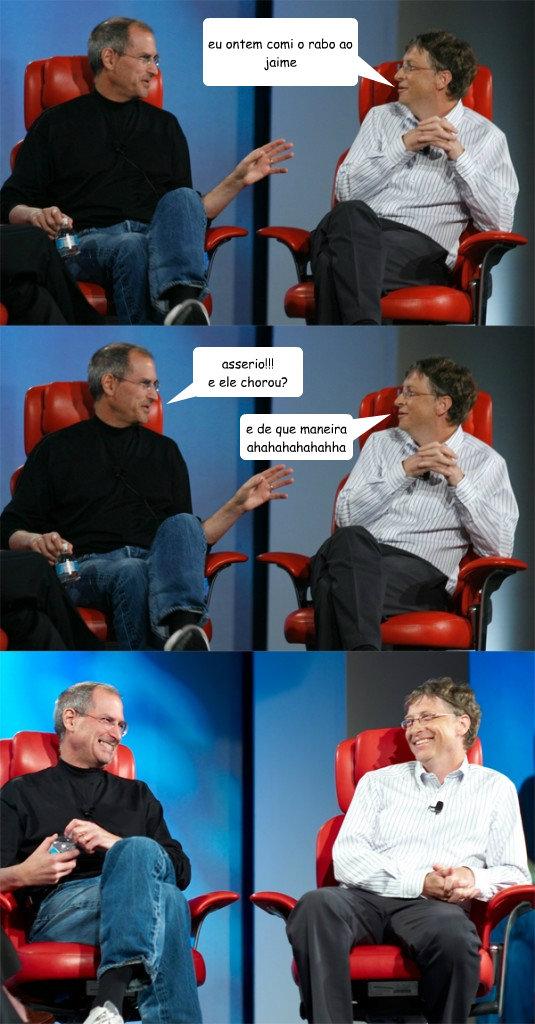 Steve Jobs vs Bill Gates memes | quickmeme