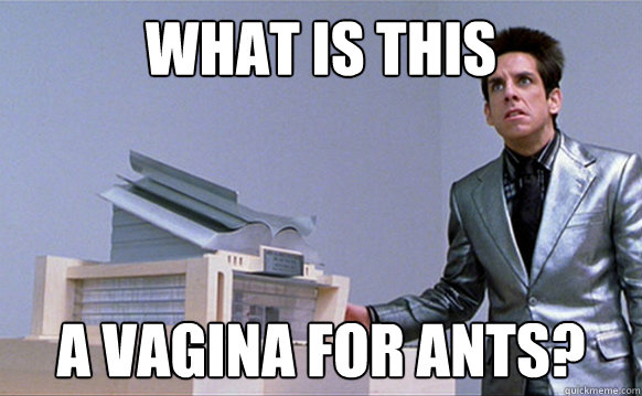 What is this A VAGINA for ants?