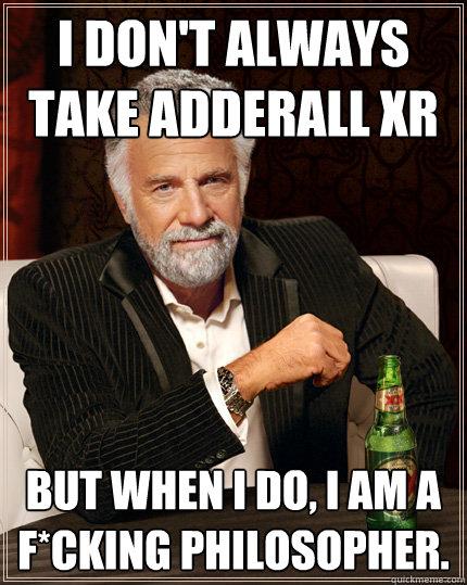 Dating an adderall addict