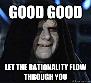 Good Good let the rationality flow through you - Good Good let the rationality flow through you  Misc