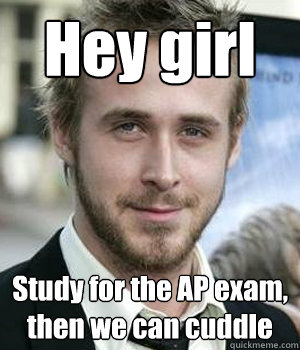 Hey girl Study for the AP exam, then we can cuddle - Hey girl Study for the AP exam, then we can cuddle  Misc