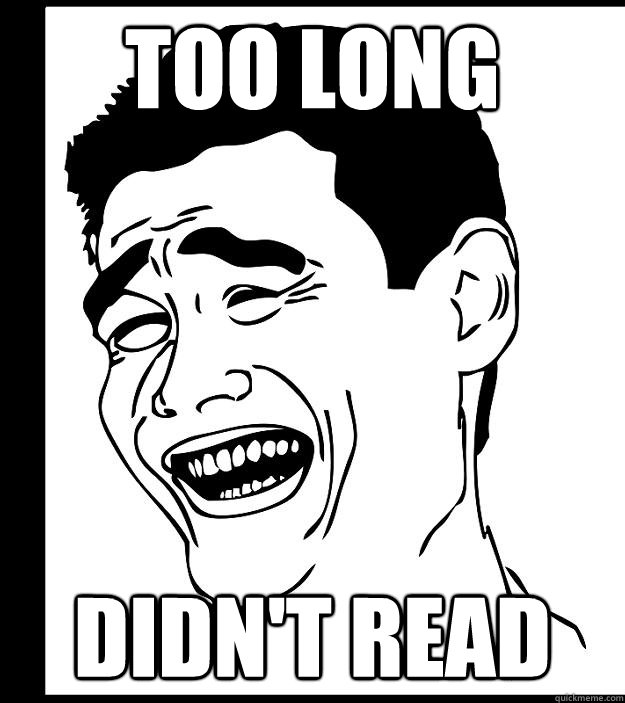 too long didn't read - too long didn't read  Yao Ming