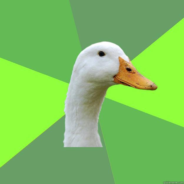 Biology Student Duck