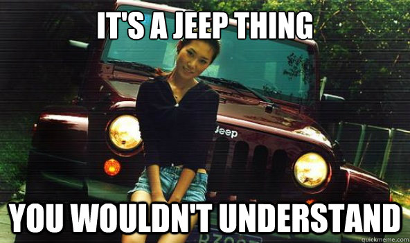 looking at a jeep   what do i need to be aware of