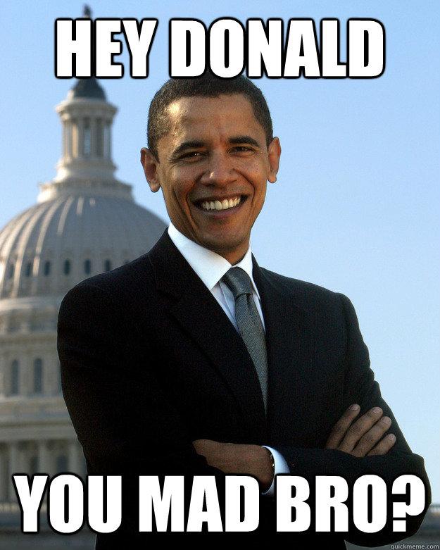 Hey Donald You mad bro? - Hey Donald You mad bro?  Misc