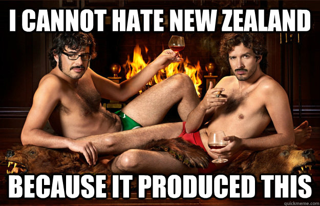 I cannot hate New Zealand because it produced this - I cannot hate New Zealand because it produced this  Misc