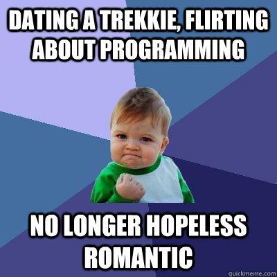 Dating is hopeless