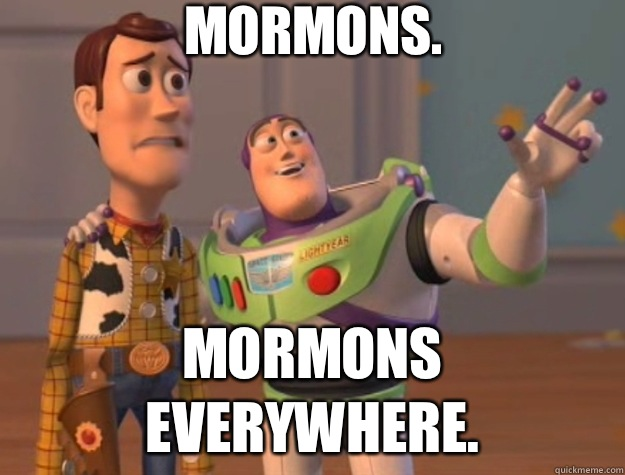 Image result for mormons everywhere