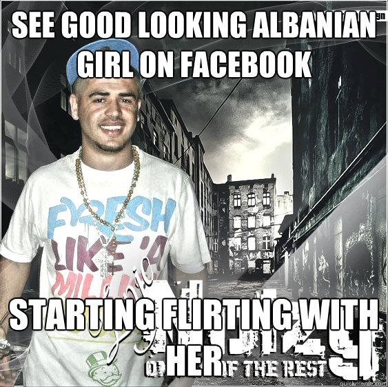 flirting signs on facebook videos funny girl meme