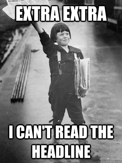Image result for child can't read meme