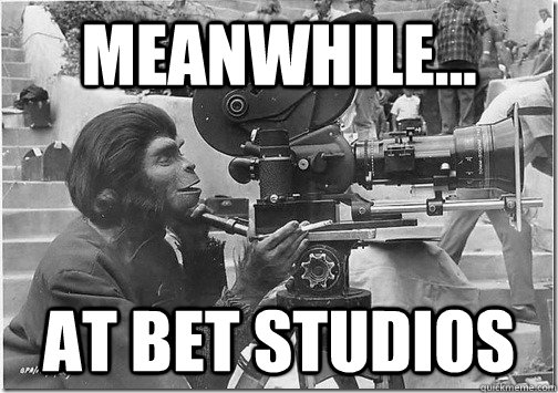 Meanwhile... At BET studios - Meanwhile... At BET studios  Misc