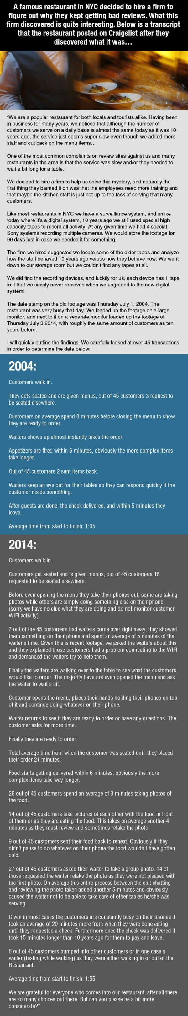 This Restaurant Kept Getting Awful Reviews. Then They Discovered This... -   Misc