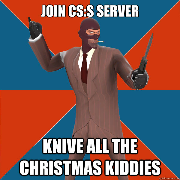 Join CS:S server knive all the christmas kiddies