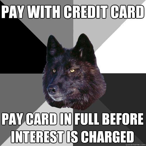 pay with credit card pay card in full before interest is charged