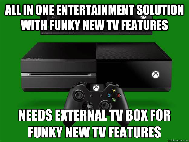 all in one entertainment solution with funky new tv features Needs external tv box for funky new tv features  - all in one entertainment solution with funky new tv features Needs external tv box for funky new tv features   Misc