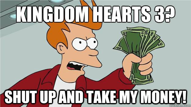 money kingdom hearts