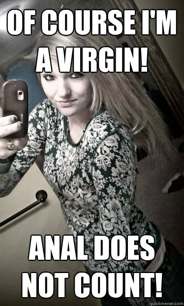 virgin does anal