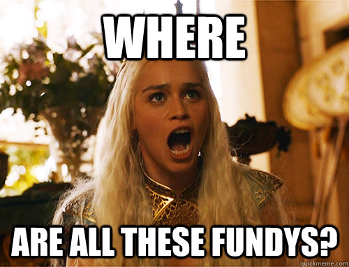 where are all these fundys? - where are all these fundys?  Where Are My Dragons