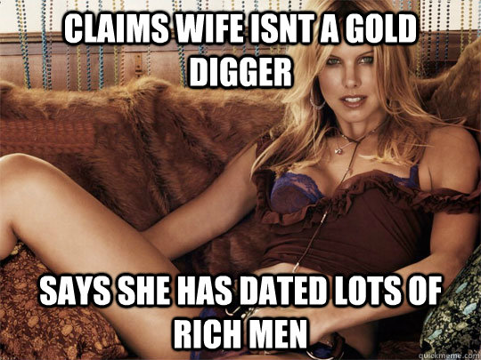 gold digger dating site